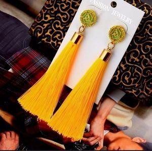 Tassel Earrings  Bohemian Long